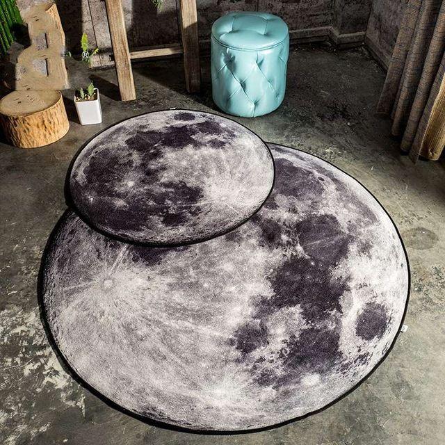 Kingart Mond Teppich Computer stuhl Bodenmatte Für Wohnzimmer - stuhl für schlafzimmer
