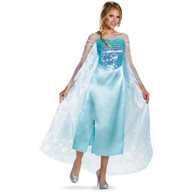 Deluxe Elsa Frozen Adult Costume Deluxe Elsa Frozen Adult CostumeYou know the words to