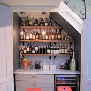Best Mini Bar Under Stairs Mini Bar Under Stairs Stairs 400 x 300