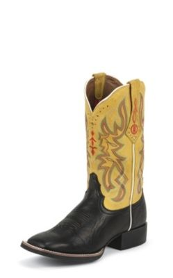 Boots, Leather cowboy boots, Cowboy boots