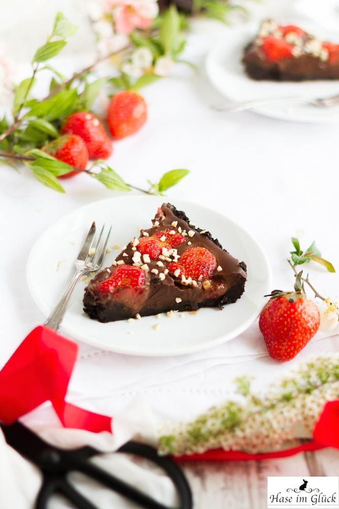 erdbeer schoko tarte ohne backen rezept rezepte pinterest backen tarte und kuchen. Black Bedroom Furniture Sets. Home Design Ideas