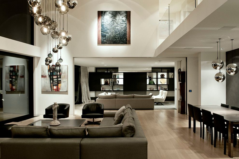 Lovely Contemporary Chandeliers Family Room Contemporary With Conetmporary Lighting  Balcony Great Pictures