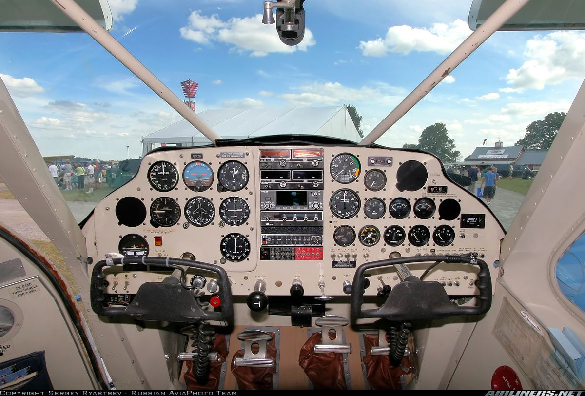 Photos Helio H 391b Courier Aircraft Pictures Airliners Net Cockpit Aircraft Pictures Stol Aircraft
