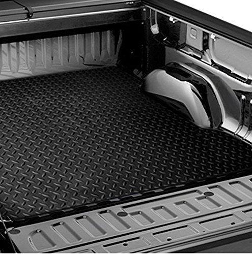 S T Racing Black Rubber Diamond Plate Truck Bed Trunk Floor Mat Carpet 07 Silverado 5 5 5 8 R L Racing Bed M 2017 Chevrolet 2500hd Duramax Mods Truck