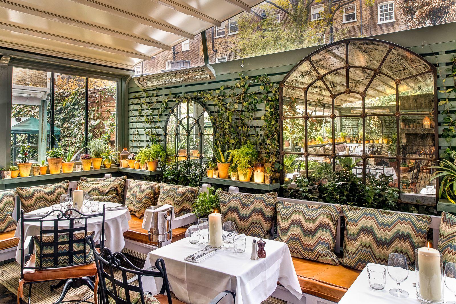 The Ivy Chelsea Garden Chelsea Garden The Ivy Chelsea Outdoor Restaurant