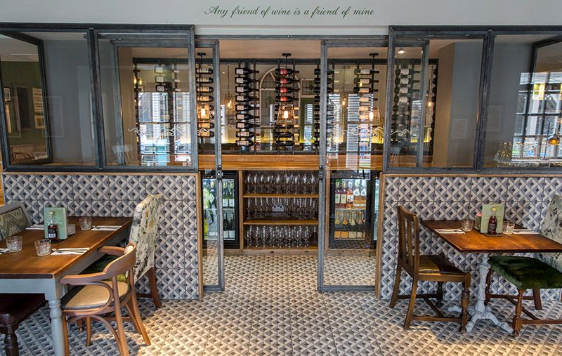 Tiles From Our Heritage Collection Featured In The The Castle A Youngs Pub In Tooting South London See More Commercial Design Space Interiors Retail Interior