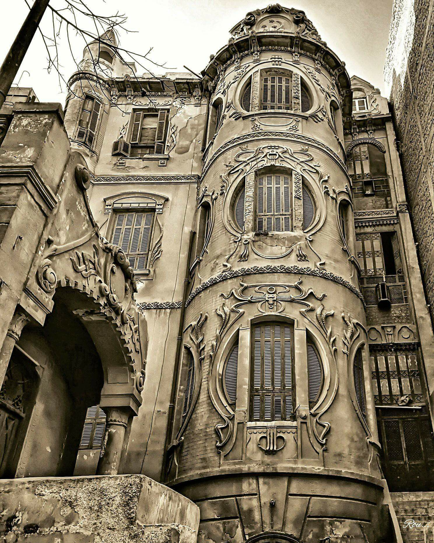 An old villa in Cairo (built circa 1900) Египет, Каир