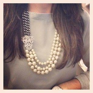 d80b3c07818e5 Daisy Pearl Necklace | Style It: Stella & Dot | Stella, dot necklace ...