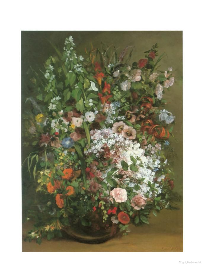 Masterpieces Of Painting In The J Paul Getty Museum Plant Art Print Plant Art Hand Painting Art
