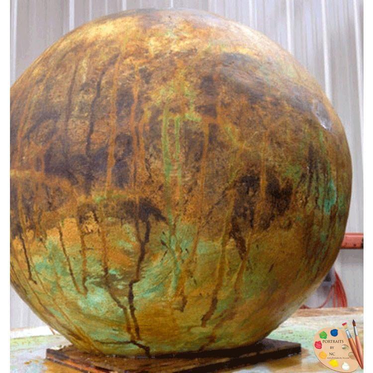 How to Make Concrete Garden Spheres