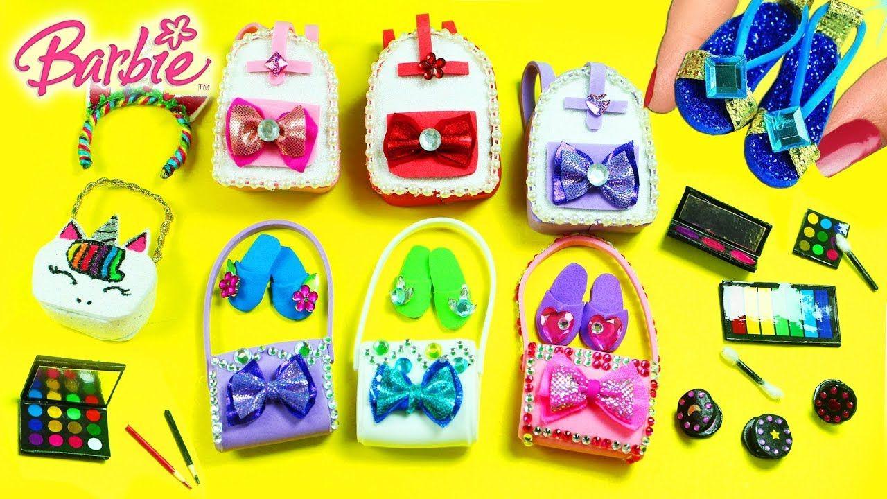 How to make a barbie purse easy