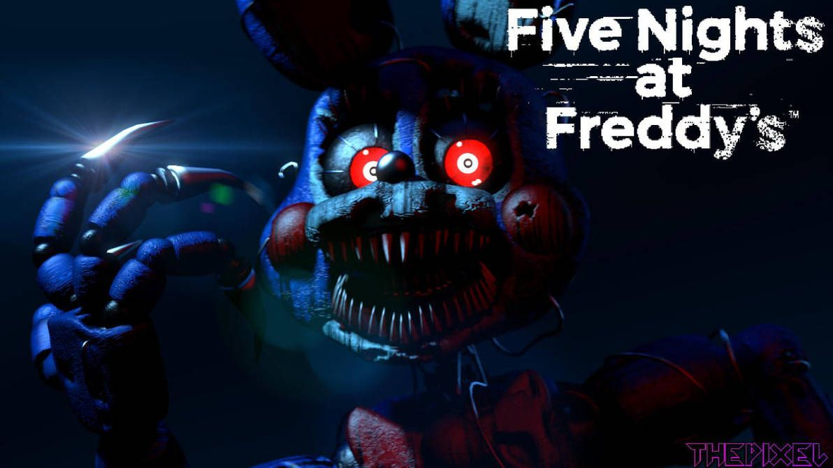 SFM/FNaF] Nightmare Toy Bonnie   Wallpaper by ThePixelYT