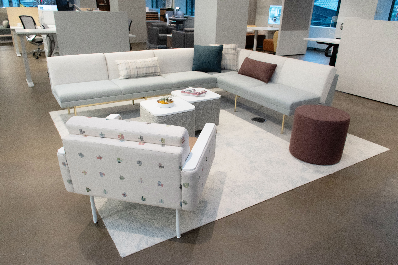Kimball Furniture Chicago Showroom Healthcare Waiting Area
