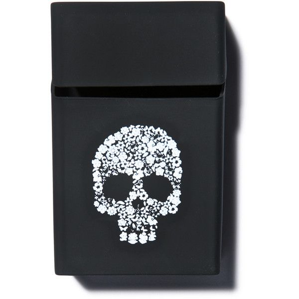 Die Young Stay Pretty Cigarette Case (10 CAD) ❤ liked on Polyvore featuring accessories and tech accessories