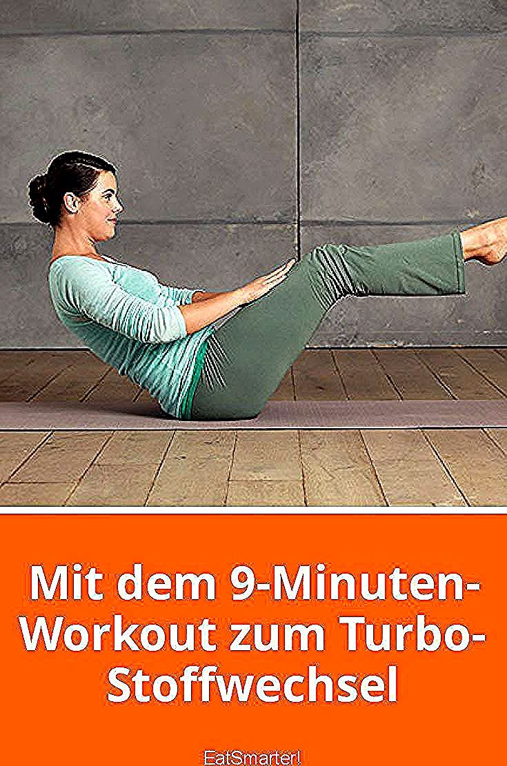 Mit dem 9-Minuten-Workout zum Turbo-Stoffwechsel   eatsmarter.de #fitness #sport #training #abnehmen