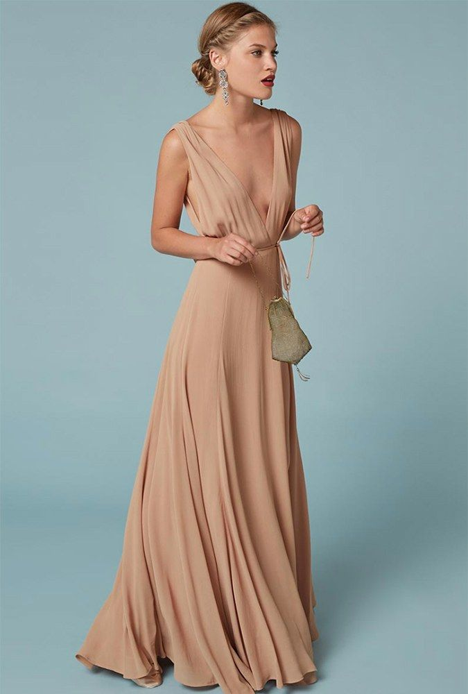 60e6d1e6f40 Here s Where to Snag These Celebrities  Bridesmaid Dresses for Your Own  Bridal Party