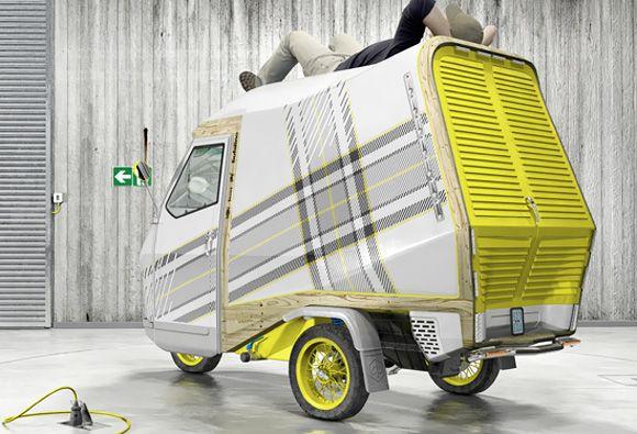 Bufalino One Person Camper キャンピングカー 車 三輪車