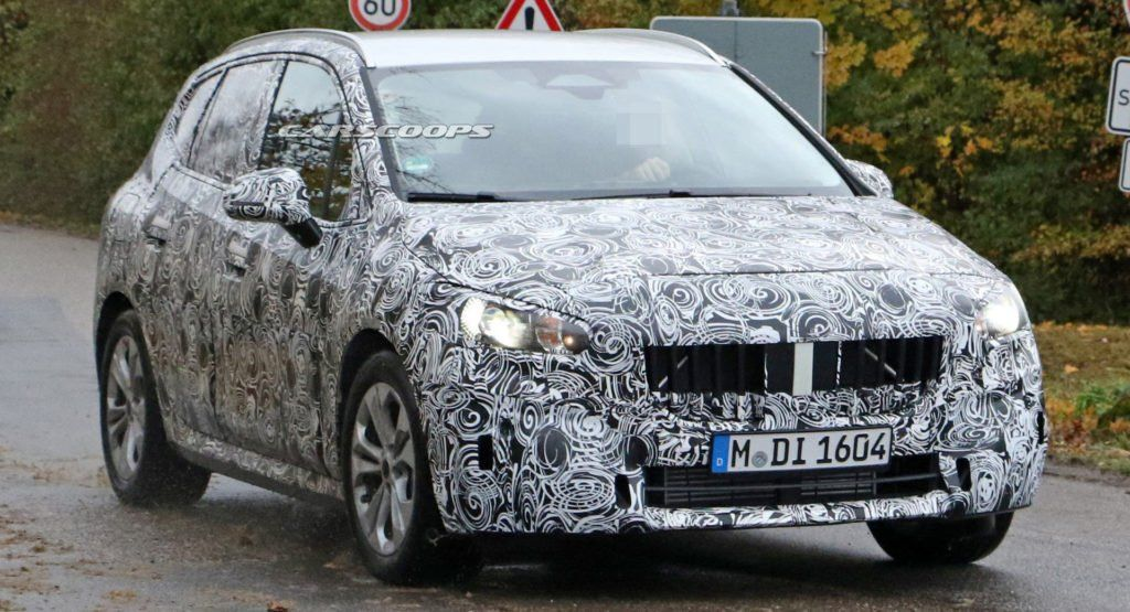 New Generation 2021 Bmw 2 Series Active Tourer Spied Inside And