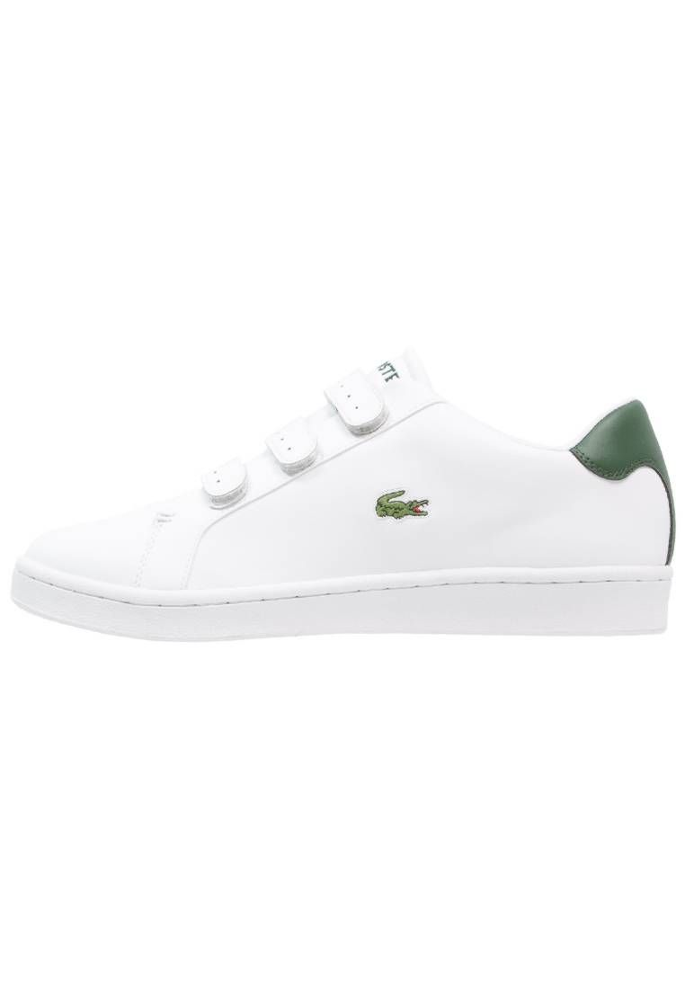 9e5c2d9f7ab Lacoste. CAMDEN NEW CUP - Sneakers laag - white/green. voering:textiel