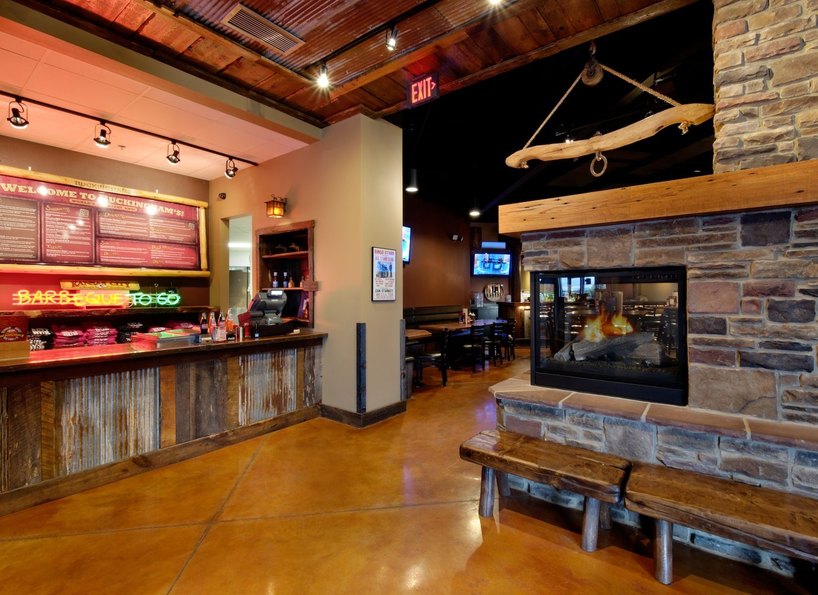 Bbq Restaurant Interior Design Google Search