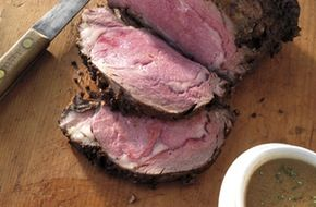 Check out this delicious recipe for Herb-Crusted Rib Roast Au Jus from Weber—the world's number one authority in grilling.