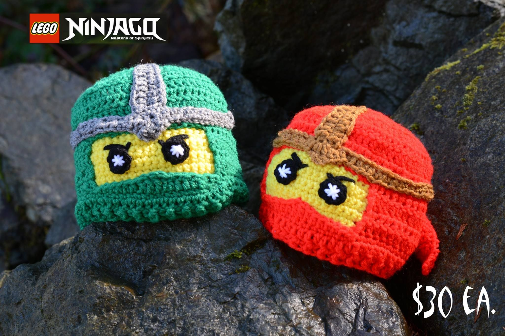 Ninjago hats:) | Hats By Tracy | Pinterest | Mütze stricken, Hauben ...