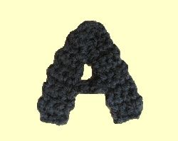 Good simple easy to understand instructions on crocheted letters good simple easy to understand instructions on crocheted letters capitalized and lower thecheapjerseys Choice Image
