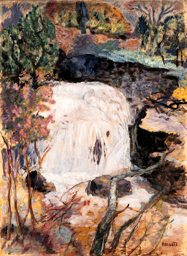 Pierre Bonnard / La cascade