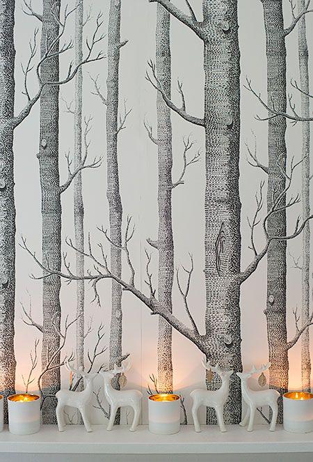 Herbstliche Waldtischdeko Wunderschön Gemacht: Herbstlaubgoldiges Dinner Im  Wald