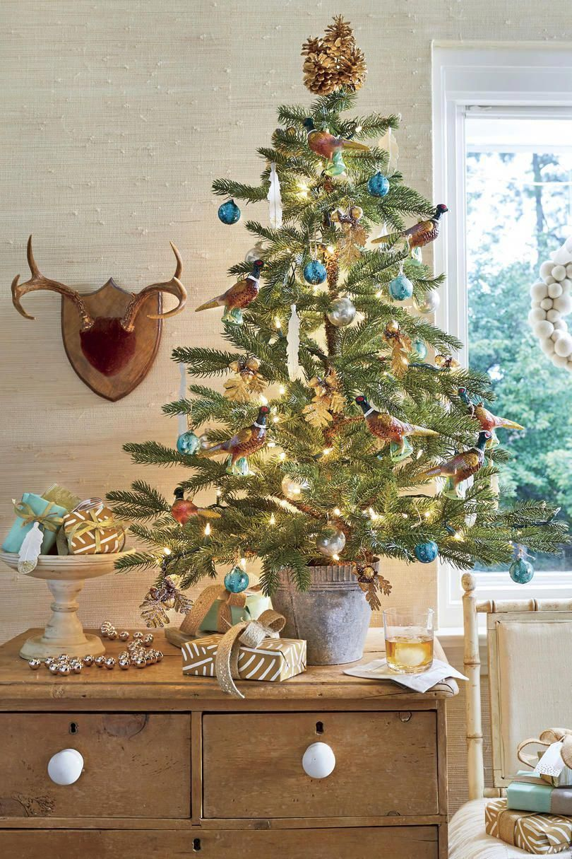 Christmas Tree Decoration Ideas - Pictures of Christmas Trees We Love - Southern Livin #christmas Tree Decoration Ideas - Pictures of Christmas Trees We Love - Southern Living #smallchristmastreeideas