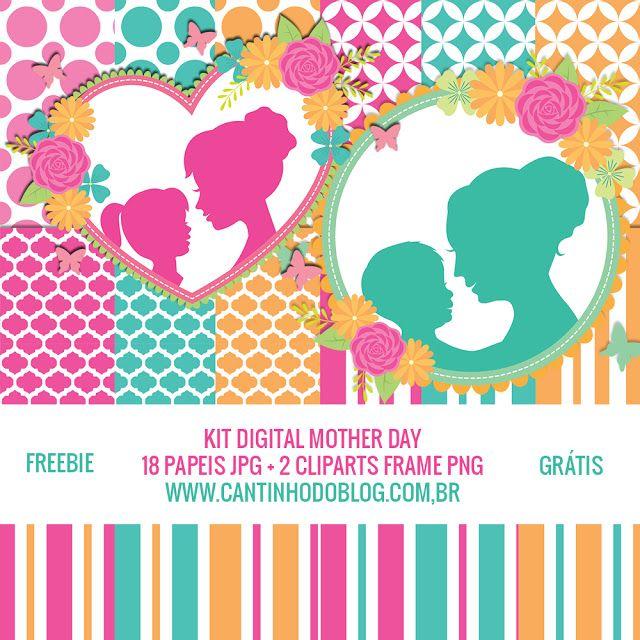 Kit Digital Mother Day Gratis Para Baixar Kit Digital Caixa Dia