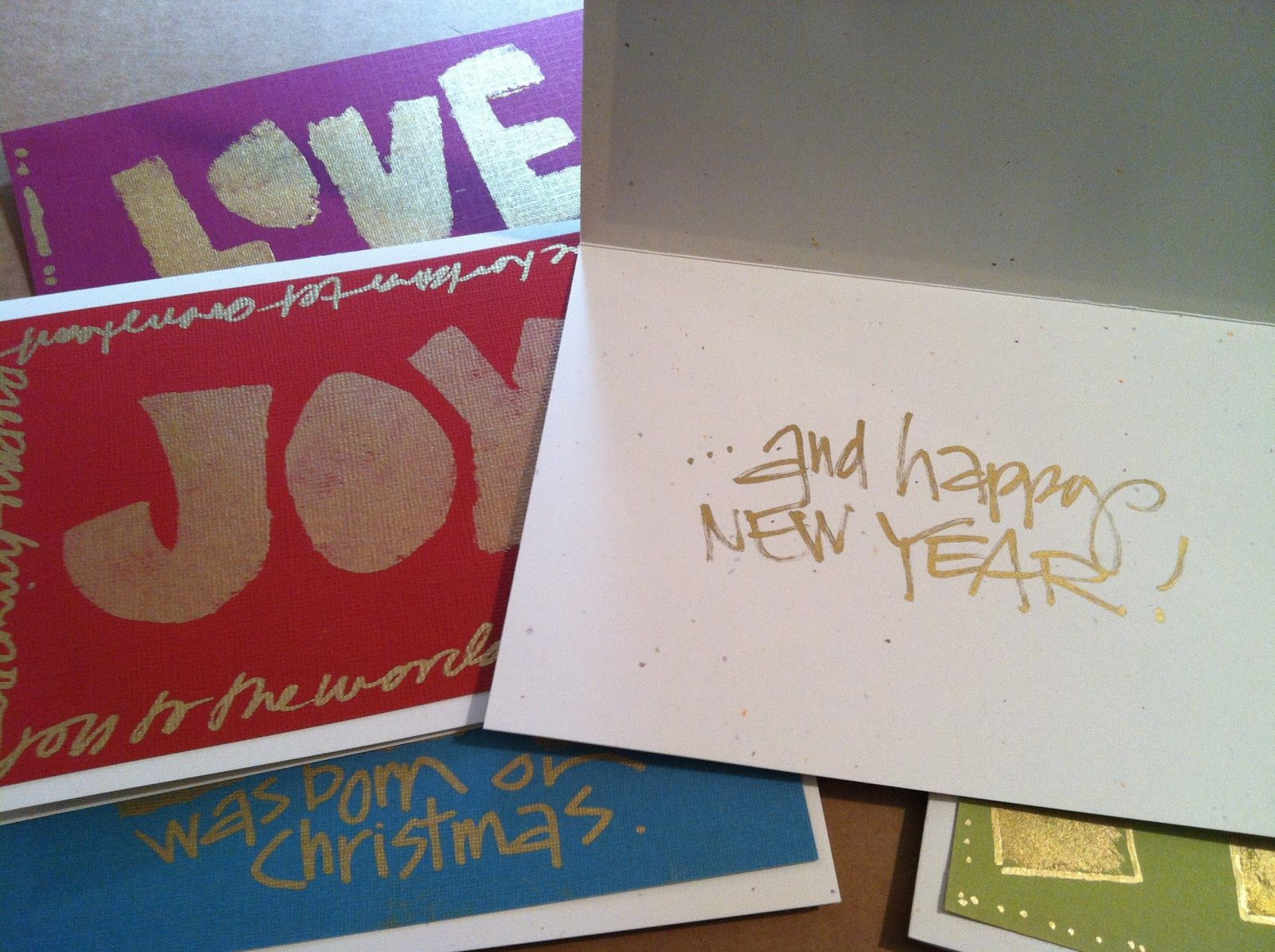 """FIVE GOLDEN LETTERINGS""...a FREE CLASS with Joanne Sharpe"