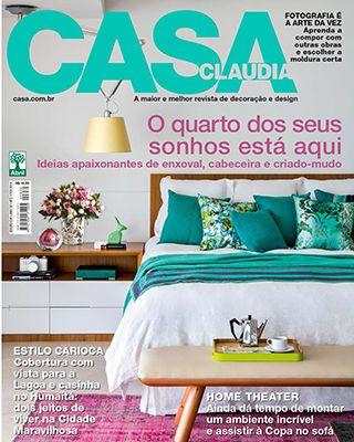 Casa Cláudia Brazil magazine delightfull unique lamps