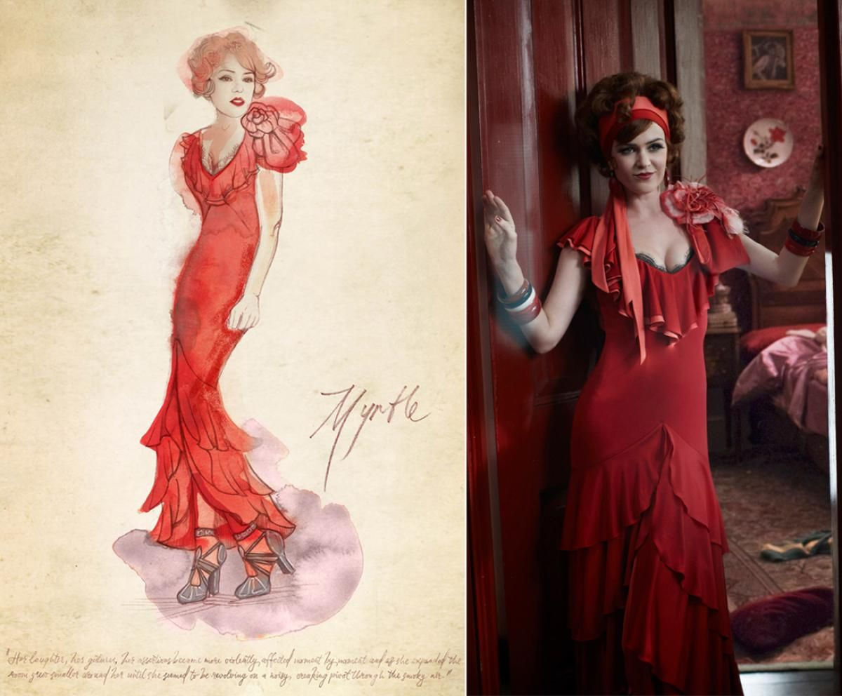 Character Design Course Description : Catherine martin for the great gatsby  oscars