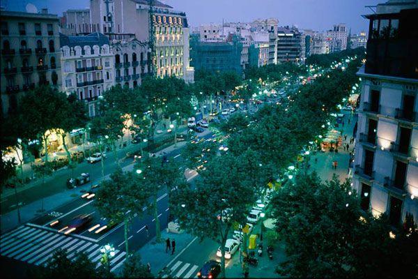 Grand Boulevard Barcelona Barcelona Spain Barcelona Spain