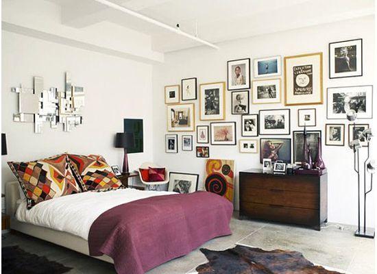Slaapkamer Met Kunstmuur : Bedroom home pinterest slaapkamer interieur en muur