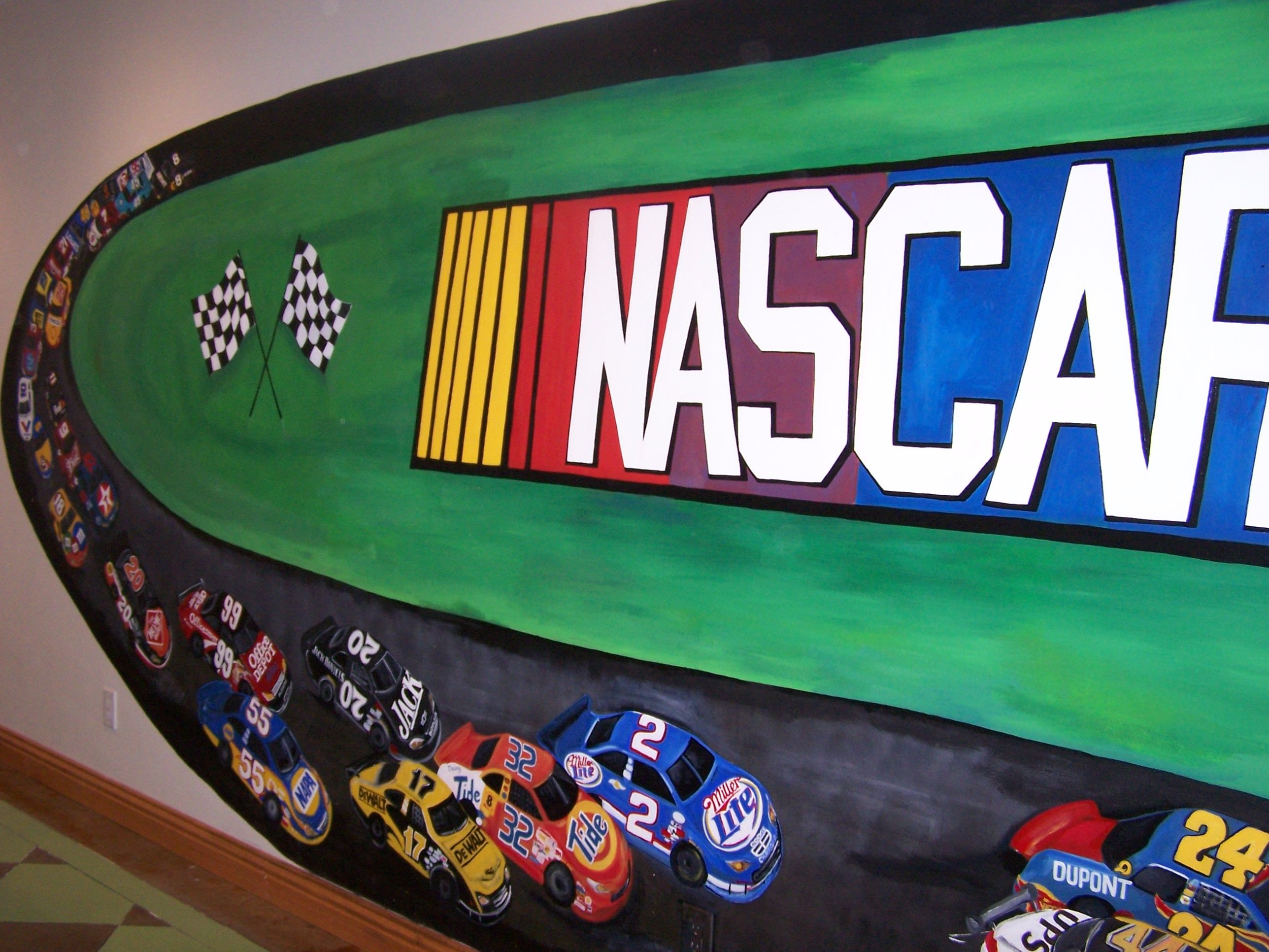 Nascar Room Decor For