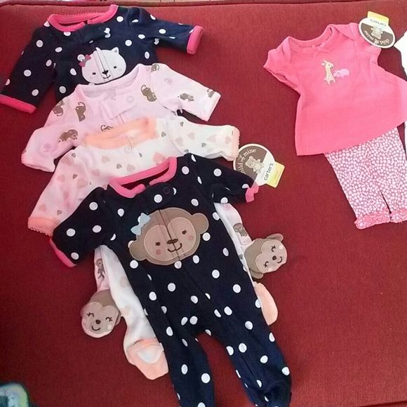 PREMATURE BABY GIRL 2 PIECE OUTFIT