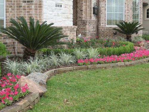 Landscaping Ideas For Front Yard Ranch House Pictures Photos