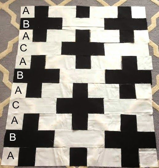 Southern Fabric: The Easiest Quilt in the World  ***super easy way to make in strips, very easy!***