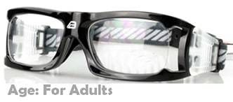 2973a5c1c5 Adults  Sports Goggles BL021 Black (Prescription Rx Lenses Available ...