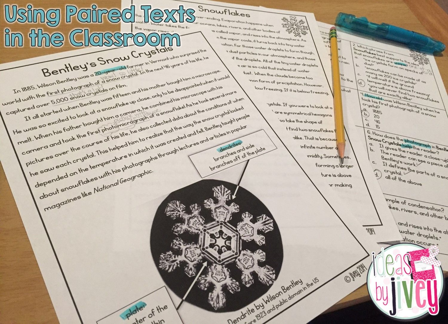Using High Interest Paired Texts