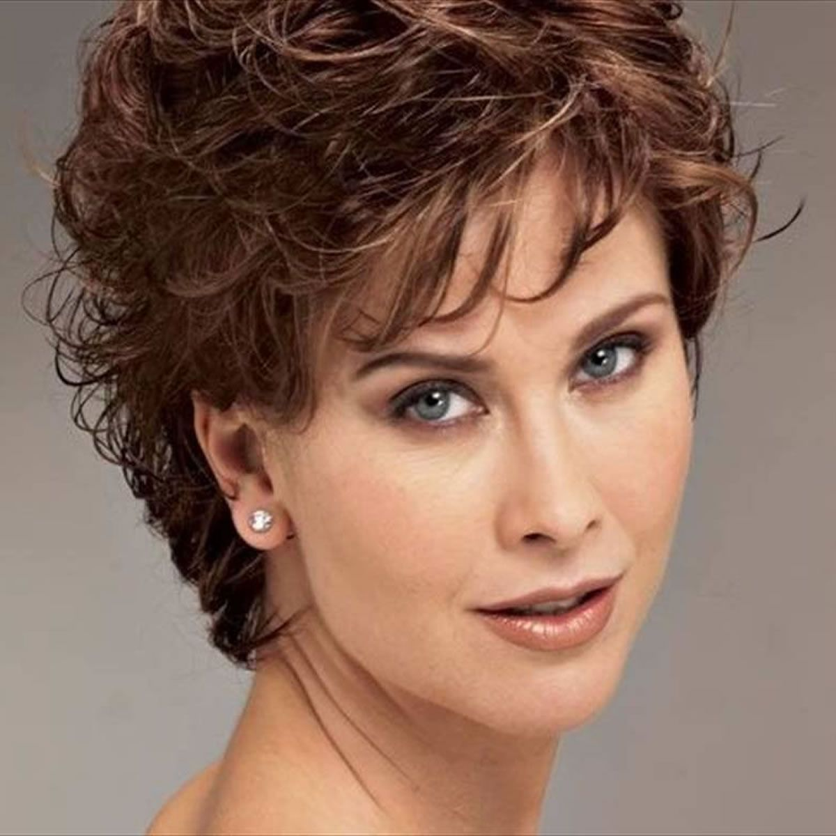 Short Hairstyles 2019 Female Over 50 Natural Short Curly