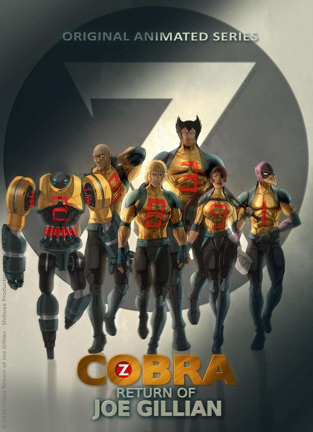 Cobra Return Of Joe Gillian Sci Fi Manga Adaptation Poster