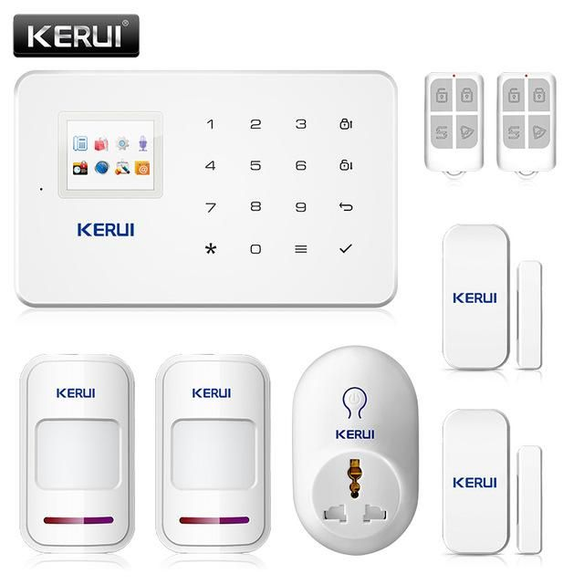 KERUI G18 TFT Touch GSM Alarm Wireless IOS/Android APP