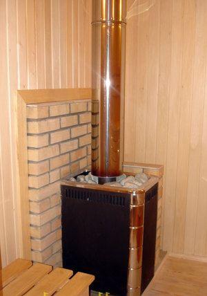 фото печи в бани