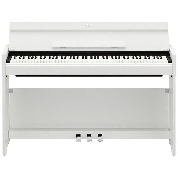 yamaha arius ydps51 digital piano in white cool instruments amps gear digital piano. Black Bedroom Furniture Sets. Home Design Ideas