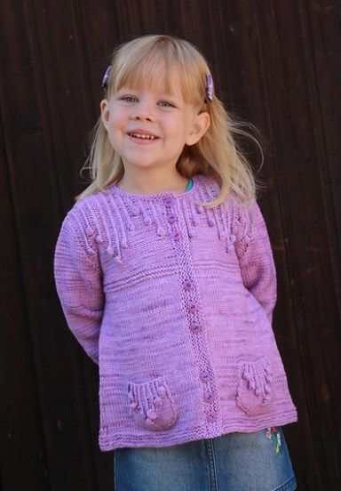 Cardigans for Children Knitting Patterns | Knitting patterns and ...