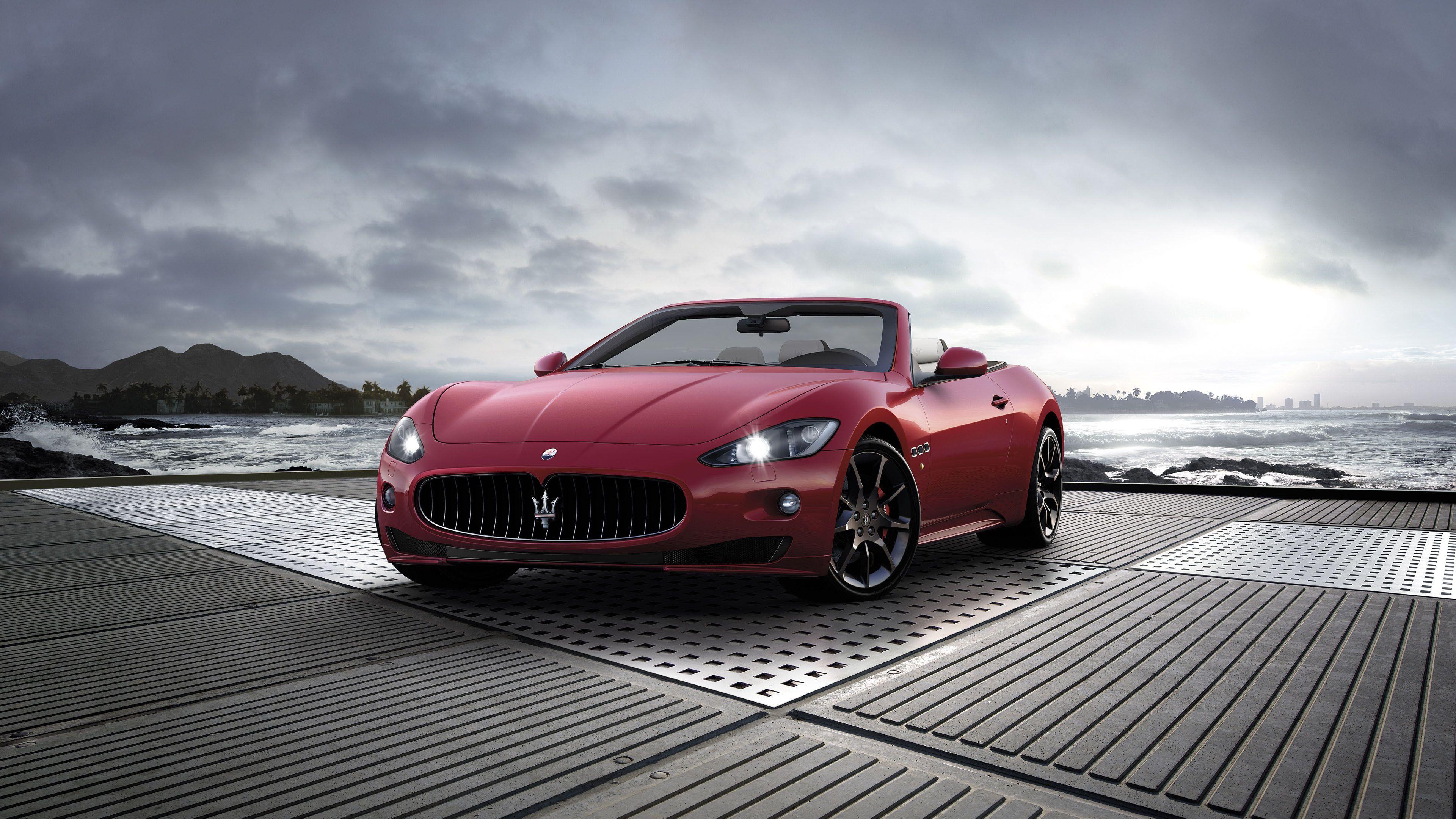 Maserati Grancabrio Sport Ultra HD 4K Wallpapers