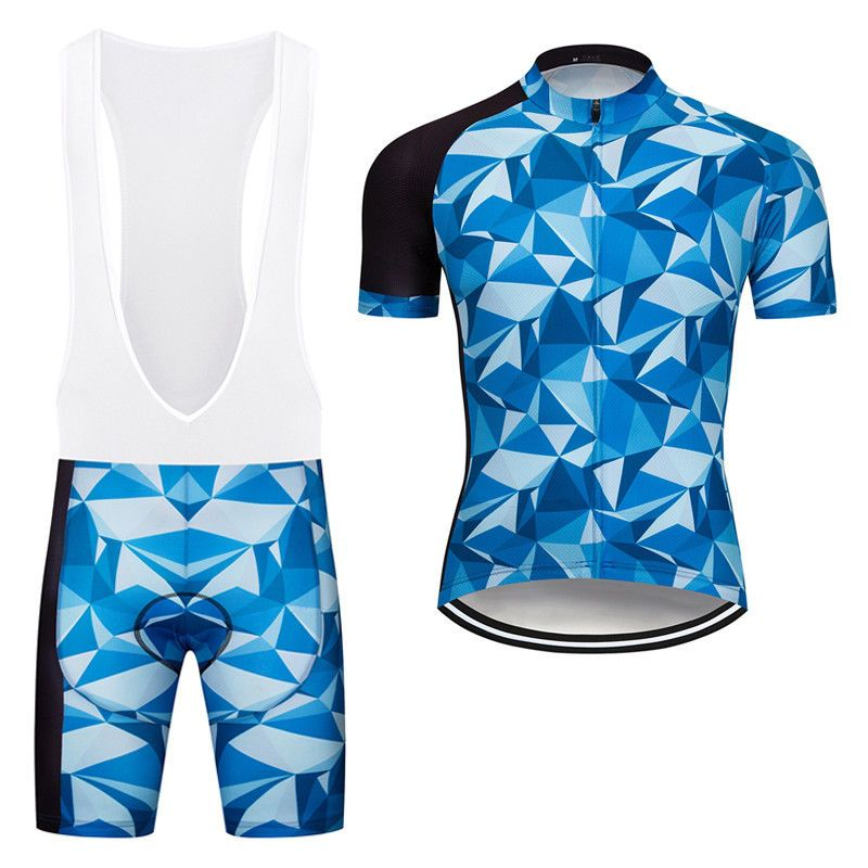 Mens Unique Cycling Kits Bike Jersey Pad Bib Shorts Set Team Jersey Short  Sleeve  Unbranded 58240830c